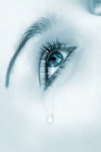 Anal crying blue eyed