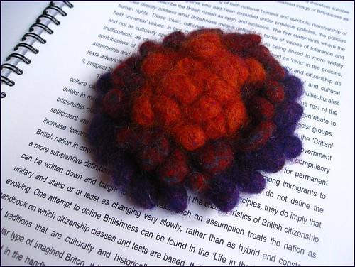 rosette flower corsage