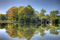Mirror For Summer (CJ Schmit) Tags: park trees summer fall water wisconsin canon pond hdr browndeer pbcs canoneos5dmarkii 5dmarkii canon5dmarkii cjschmit wwwcjschmitcom