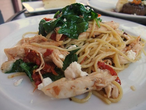 Spaghetti Cassandra at The Worthington Inn
