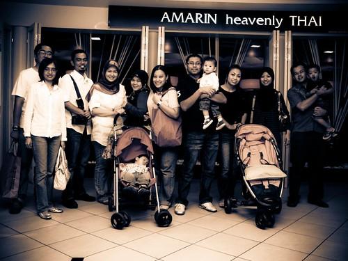 Buka puasa @ Amarin Heavenly Thai