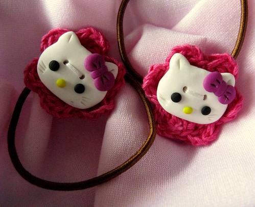 Elástico de cabelo Hello Kitty