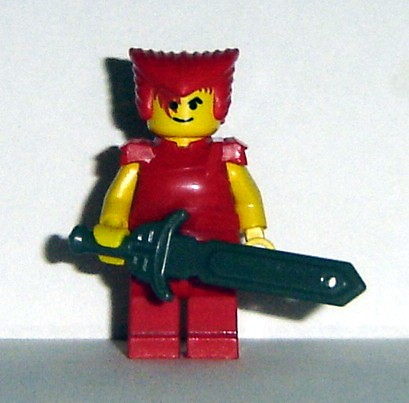 Classic Fighter custom minifig
