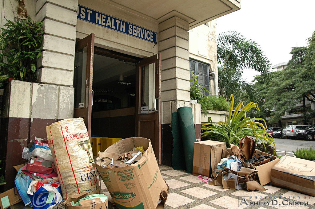 Tropical Storm Ondoy (Ketsana) Aftermath - UST Health Service