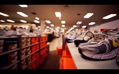 13:44 PM (isayx3) Tags: shopping lights store nikon shoes angle bokeh wide perspective sigma nike ultra department f28 d3 jcpenny 14mm plainjoe isayx3