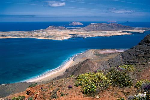 La  Graciosa, archipielago chinijo - Lanzarote - Excellence Club por Excellence Club.