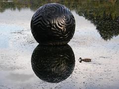 2007-12-23-Stoneleigh-2007-20-05-Pearliculture (russellstreet) Tags: newzealand sculpture auckland nzl manukau aucklandbotanicalgardens sculpturesinthegarden2007 stoneleighsculpturesinthegarden2007 johnioane pearliculture