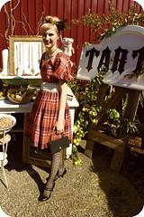 My Favorite New Dress (ittybittybirdy) Tags: fall fashion barn vintage shopping washington dress antique plaid battleground chelseaann ittybittybirdy