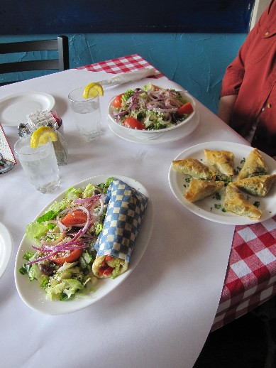 Greek Food For Lunch