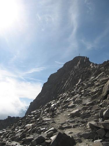 Gipfel des Habicht