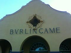 Burlingame Caltrain Station