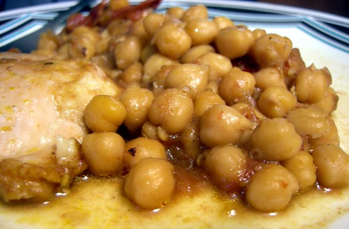 Chana Masala with chicken