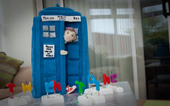 day twenty two - I'm twenty one! (jonoakley) Tags: birthday david cake 21 box who police doctor converse tardis tennant