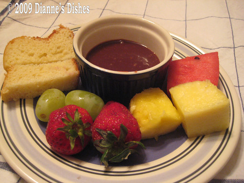 Double Chocolate Caramel Fondue