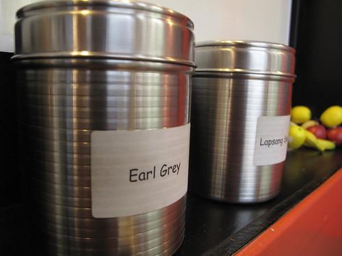 Jars for tea