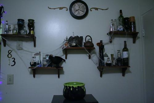 Apothecary Shelves