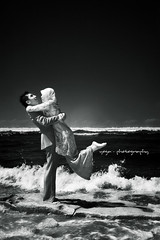 cinta fitri #3 (yoga - photowork) Tags: bw canon indonesia ir fun photography 350d couple infrared 1022mm prewedding
