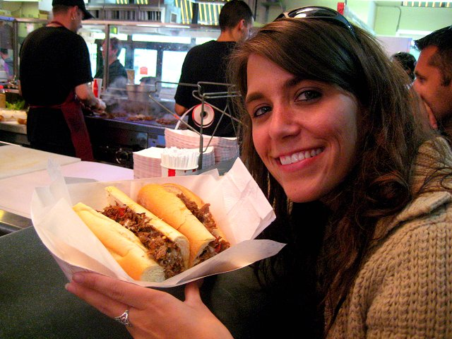 me and cheesesteak