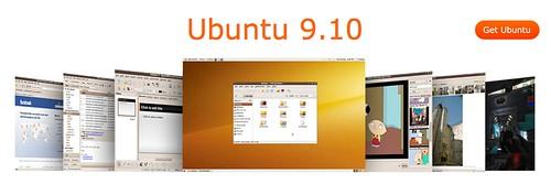 Sitio de Ubuntu plagiando la estética Apple