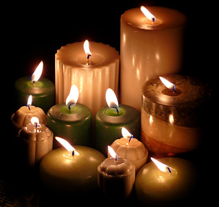 Let Your Light Shine ~ Candles for Jamie & the Loved Ones of Others