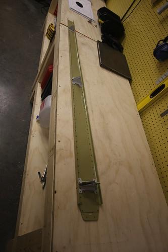Vertical Stabilizer Rear Spar Assembled