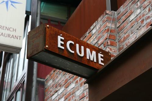 Ecume [ekyme]