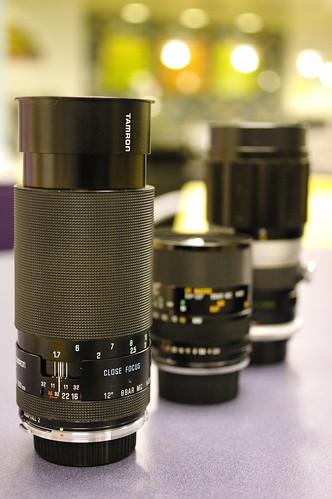 Tamron 200mm f/3.5 adaptall-2 (04B)