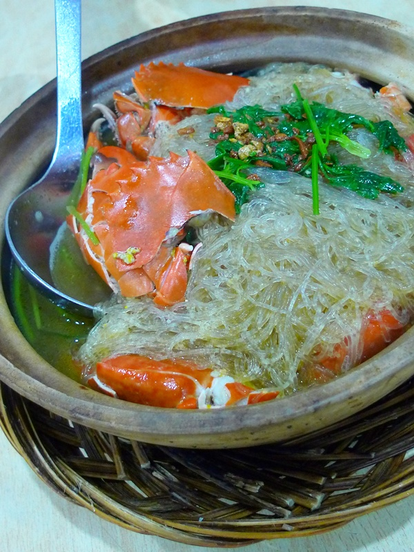 Claypot Crab Glass Vermicelli