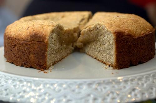 hazelnut chestnut cake