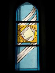 Kirche Trimmis ( Gotteshaus katholisch - Chiuche - Geweiht St. Carpophorus - church - église - temple - chiesa - Baujahr Nebau nach Dorfbrand 1421 ) im Dorf Trimmis im Churer Rheintal im Bezirk Landquart im Kanton Graubünden - Grischun der Schweiz (chrchr_75) Tags: hurni christoph schweiz suisse switzerland svizzera suissa swiss kanton graubünden kantongraubünden grischun rheintal chrchr chrchr75 chrigu chriguhurni burgentour 2009 burgentour2009 kirche church eglise chiesa kerk iglesia kyrkan kirchenfenster fenster window glas glasmalerei kunst art gemälde albumkirchenfenster chriguhurnibluemailch sveitsi sviss スイス zwitserland sveits szwajcaria suíça suiza albumgraubünden bezirklandquart trimmis kantongrischun hurni091114 chiuche église temple albumkirchenundkapellenimkantongraubünden