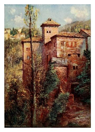 045-Granada-Torre de las Damas-Southern Spain 1908- Trevor Haddon