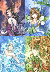 elemental fairies