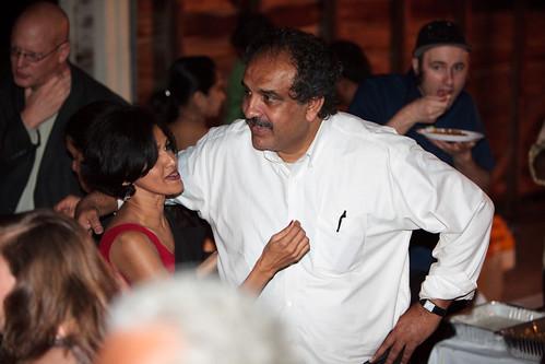 Sehba greeting Kamran Ali