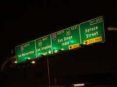 Sign Gantry @ 60+91+215 (mike_s_etc) Tags: road sign highway 15 freeway interstate 91 215 gantry sr60 sr91 stateroad i215 riversidefreeway pomonafreeway morenovalleyfreeway signgantry