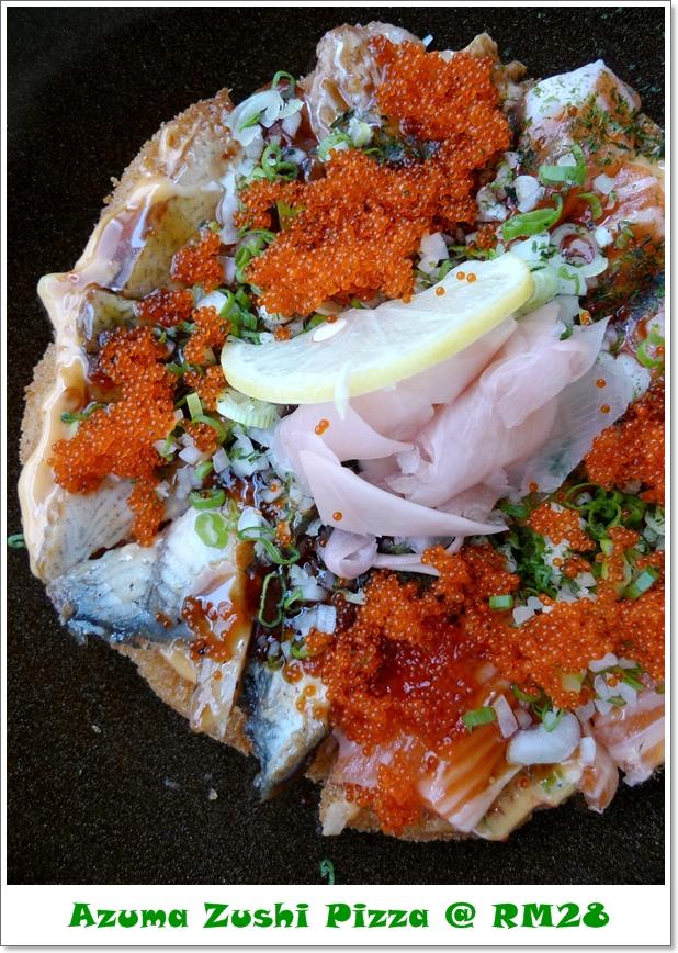 Azuma Zushi Pizza