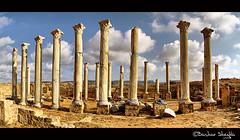 The Ancient City of Appolonia ! (Bashar Shglila) Tags: city las sky clouds photoshop amazing ancient libya hdr lybia photogroup the libia libyen photomatix  lbia libi appolonia libiya liviya libija     lbija  lby libja lbya liiba livi