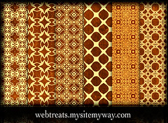 Tileable Ornate Grungy Golden Photoshop Patterns (webtreats) Tags: photoshop golden graphicdesign patterns ornate seamless grungy tileable webresources webtreatsmysitemywaycom webtreats webtreasetc