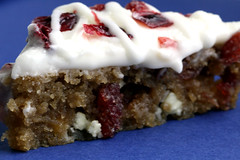 12 days of cookies: (mock) cranberry bliss bars