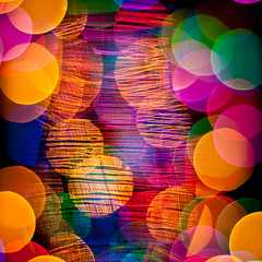 textured bokeh 2 (Will Montague) Tags: pink blue red green glass colors lines yellow 50mm prime nikon bokeh circles magenta violet montague d80 bokehballs beyondbokeh willmontague