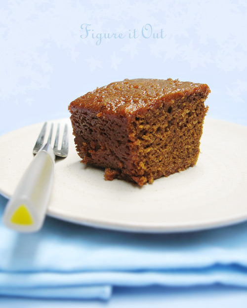 English Gingerbread Cake (with title)