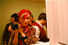 Aladdin Sane (ella es una carnaval) Tags: halloween traje bowie glamour glamrock davidbowie rayo ziggystardust aladdinsane
