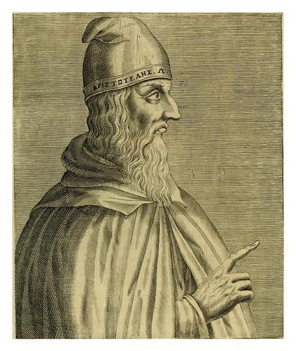 010-Aristoteles-Les vrais pourtraits et vies des hommes illustres grecz, latins et payens 1584-André Thevet