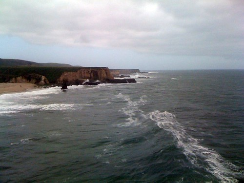 Photo Taken from the Whale Watching Bluff in Davenport