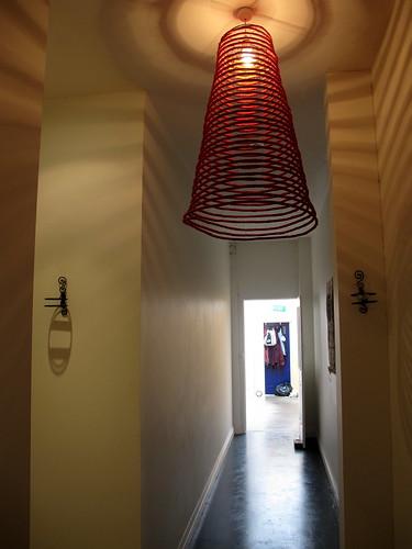 Miss Marmalade corridor