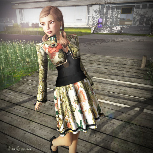 CS - The Secret Store - Pospicle Dress & Eglantine Jacket -Floral
