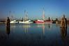 Shrimp boats docked in Bayou La Batre Alabama (CarmenSisson) Tags: bayoulabatre alabama gulfcoast shrimping shrimpboats boats seafoodindustry water ladyjoanna paparod integrity usa