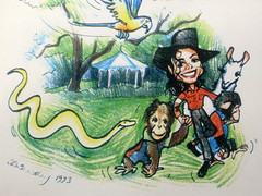 Michael Jackson (1958-2009) Remembered by Stephen B Whatley (Stephen B Whatley) Tags: california ca news illustration garden fun death monkey la losangeles artist chimp drawing snake album cartoon dream happiness parrot bubbles peterpan pop jackson cnn tragedy bbc hollywood singer letter michaeljackson lama python chimpanzee neverland apes mowtown lalaland popstar thriller jacko elizabethtaylor jackson5 abigfave stephenbwhatley peterpanofpop