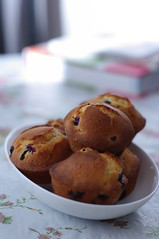 Day 153 - Fresh Baked Blueberry Muffins