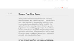 Andy Rutledge - Dog and Pony Show Design_1246221194618