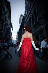 gay pride genova 05 (alessandro lanari - floatingover.com) Tags: street red dress pride parade genova 09 lgbt gaypride trans 06 transexual 27 rosso alessandro vestito transessuale lanari wwwfloatingovercom alessandrolanari